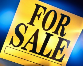 "Yellow ""For Sale"" Sign"